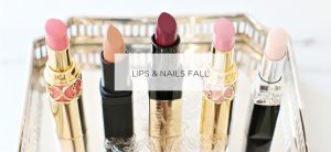 Lip and Nail color for fall holiday