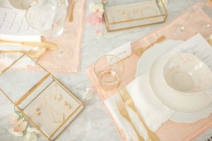 Leah Alexandra Jewelry Table setting