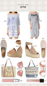 Splurge or save on spring outfits