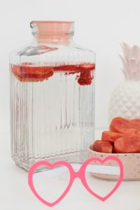 fruit water jug