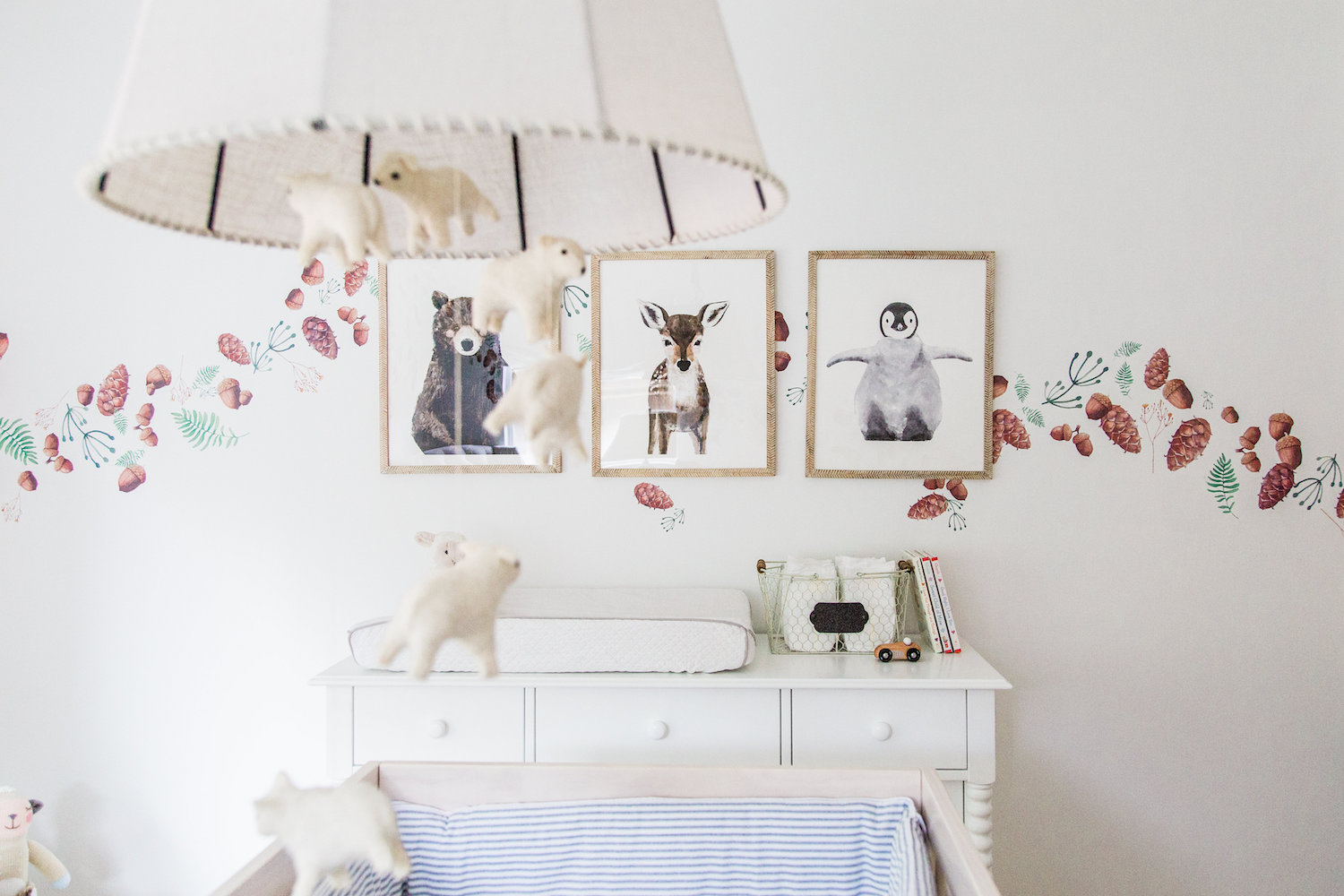 Gallery Wall Animals Boy Nursery