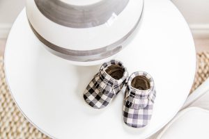 Baby Boy plaid mocks