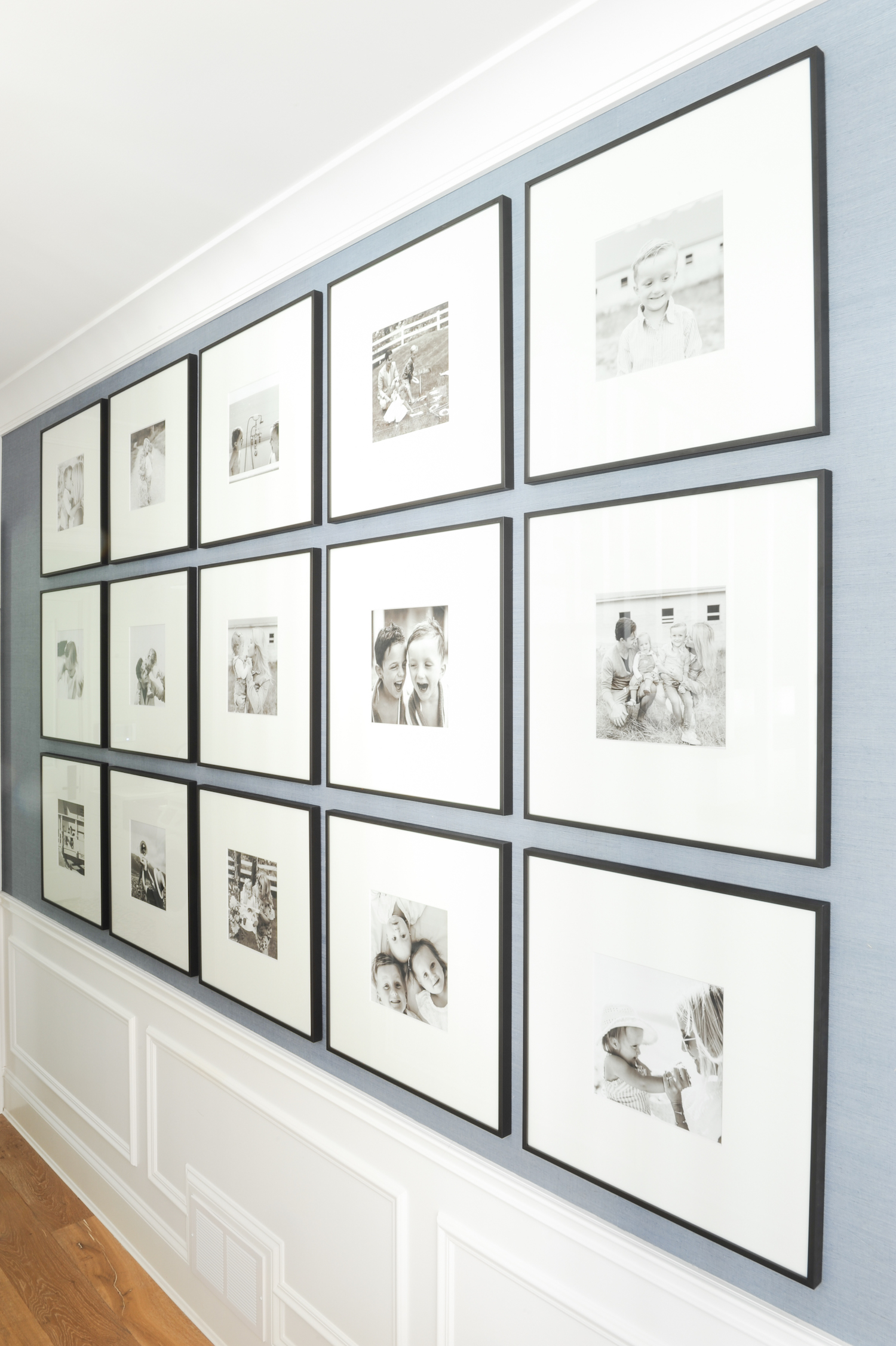 How to create the perfect gallery wall monika hibbs needless to say we love it ha not only that but the pop of color in our home looks so great too im so happy how it all turned out jeuxipadfo Gallery
