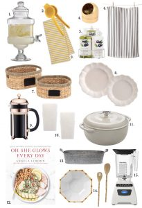 Walmart home and kitchen items