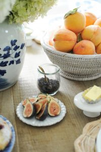 figs and tea