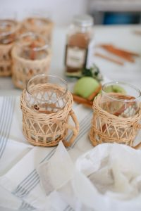Wicker Mugs