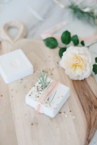 DIY Soap in bathroom