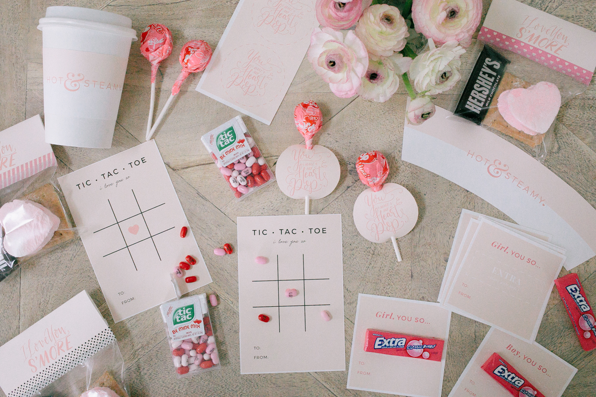 Adorable Valentine's Cards [Printables]