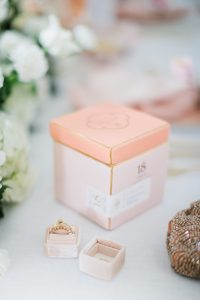 pink candle box jewelry