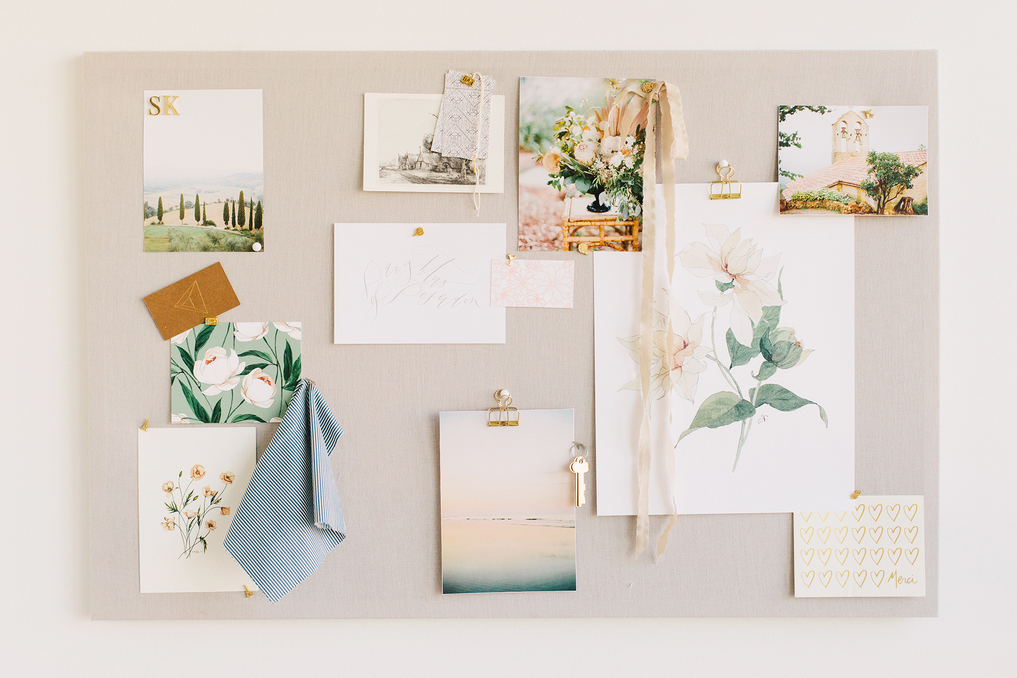 The Perfect DIY Pinboard