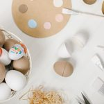 kinder surprise DIY paper easter eggs