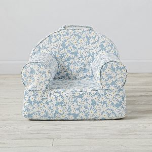 small daisy print chair
