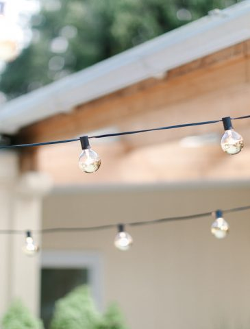 gold dipped string lights