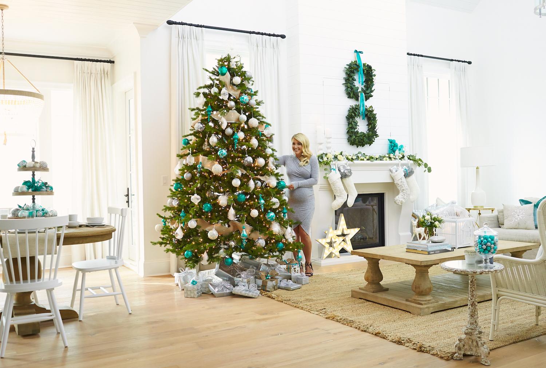 Teal for Christmas | Monika Hibbs