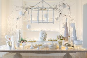 Swan Lake Birthday Party Dessert Table