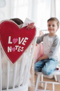 valentine's day card writing minted