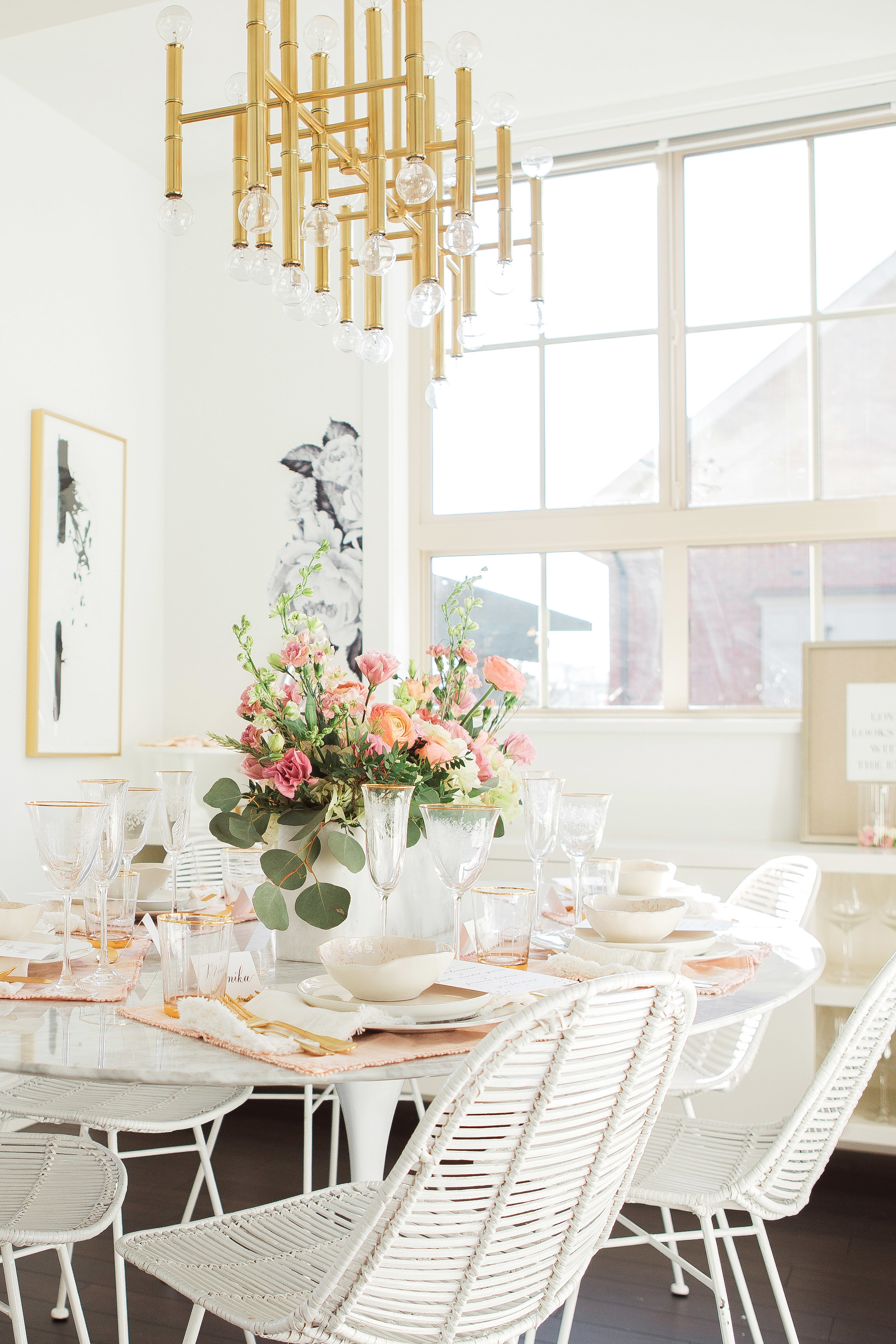 Dining Room Bunch set up