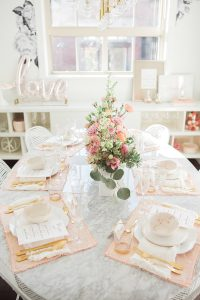 Dining Room table brunch