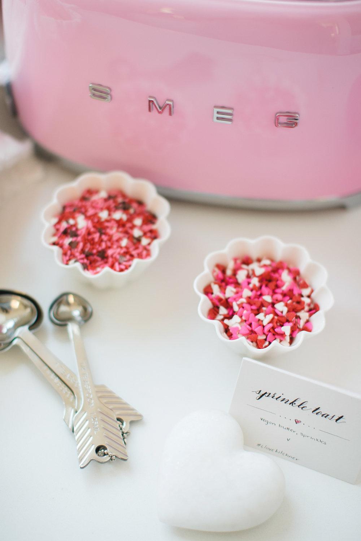 smeg pink toaster