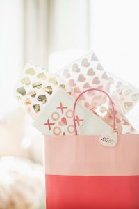 valentines day gift bag