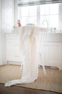 natural white linens