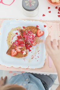 Kids Valentine's Day Breakfast Monika Hibbs
