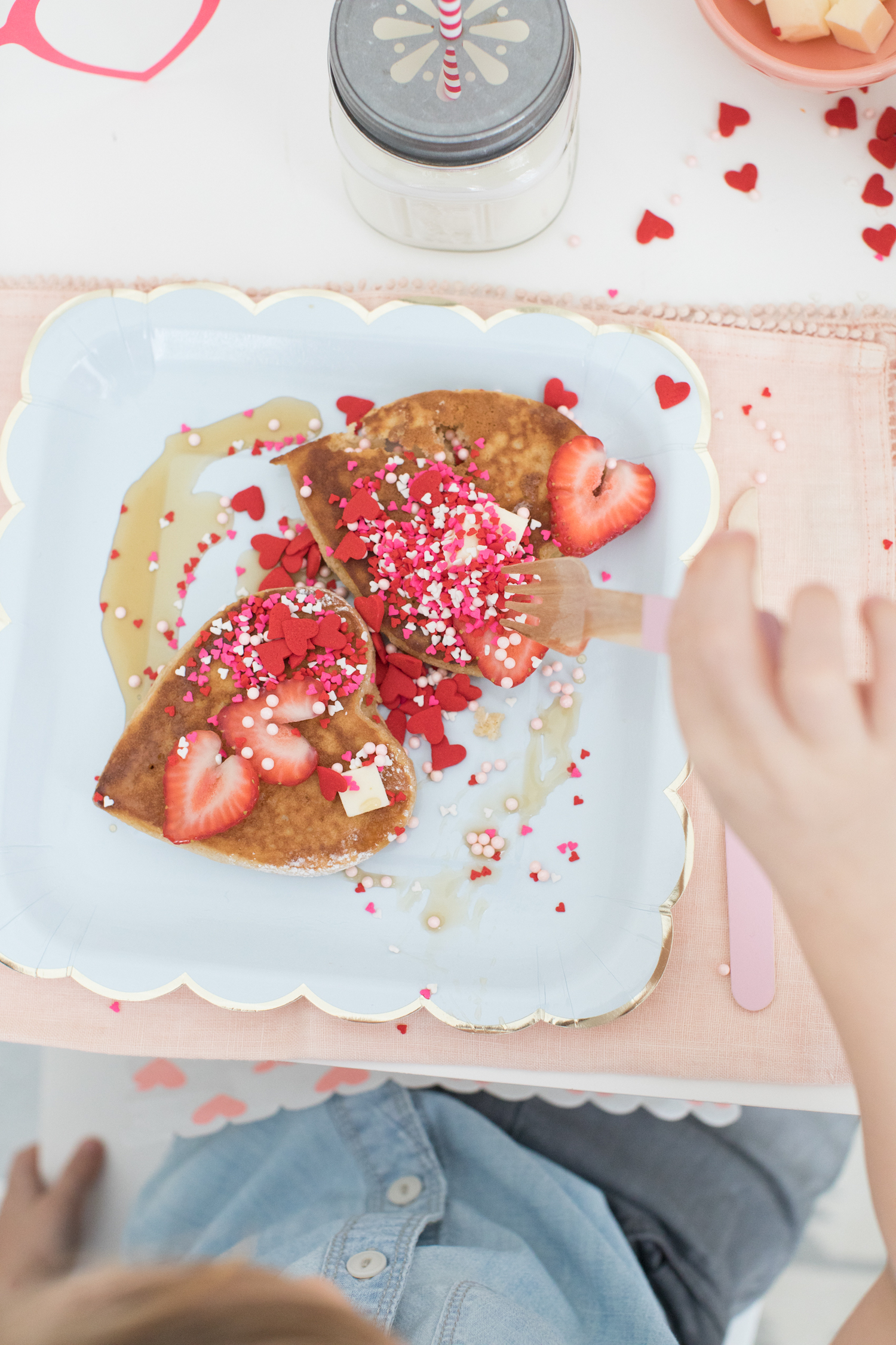 Kids Valentine's Day Breakfast Monika Hibbs