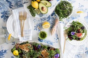 Whole30 Fresh Greens Chicken Salad