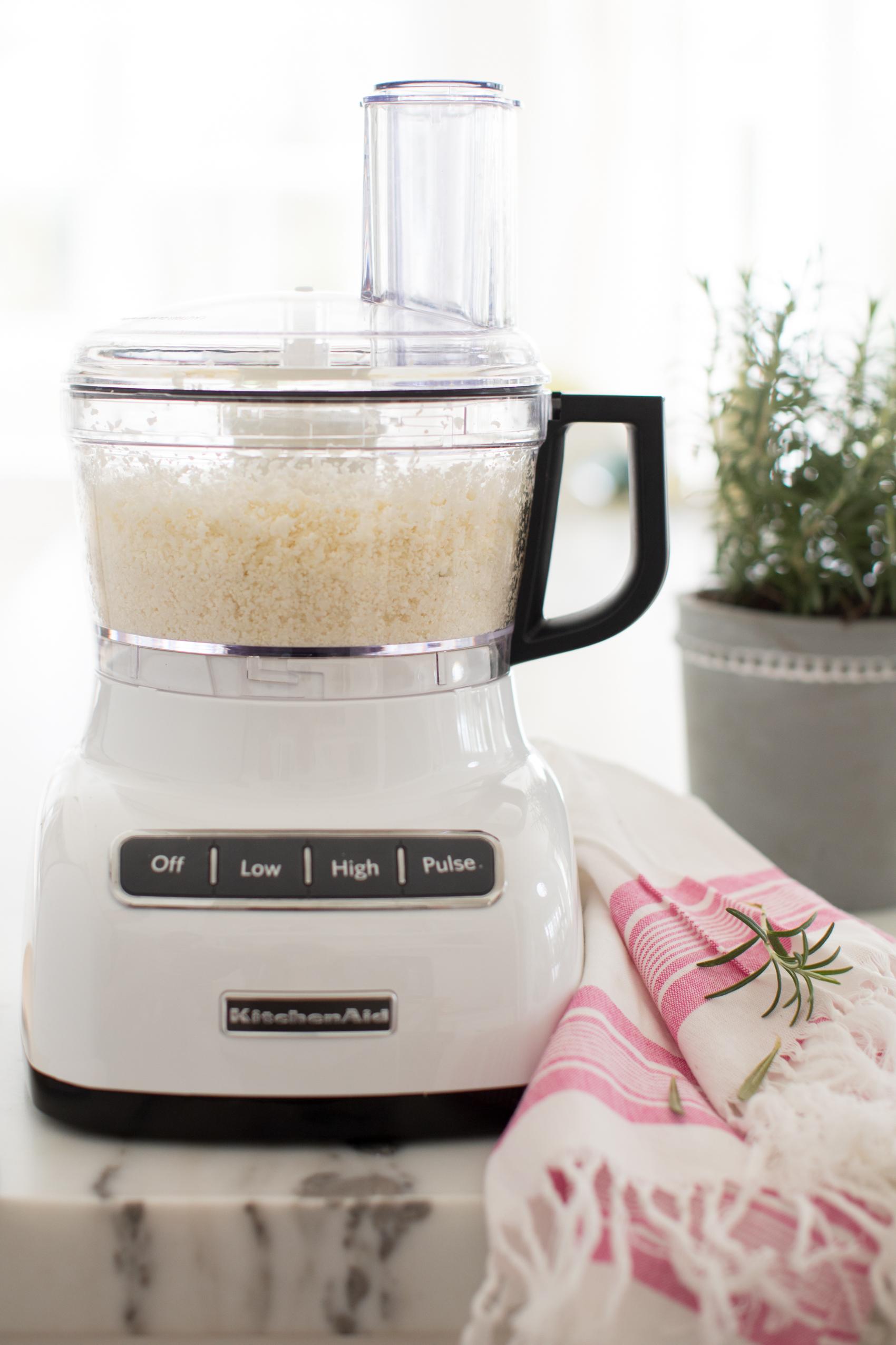 rice in food processor