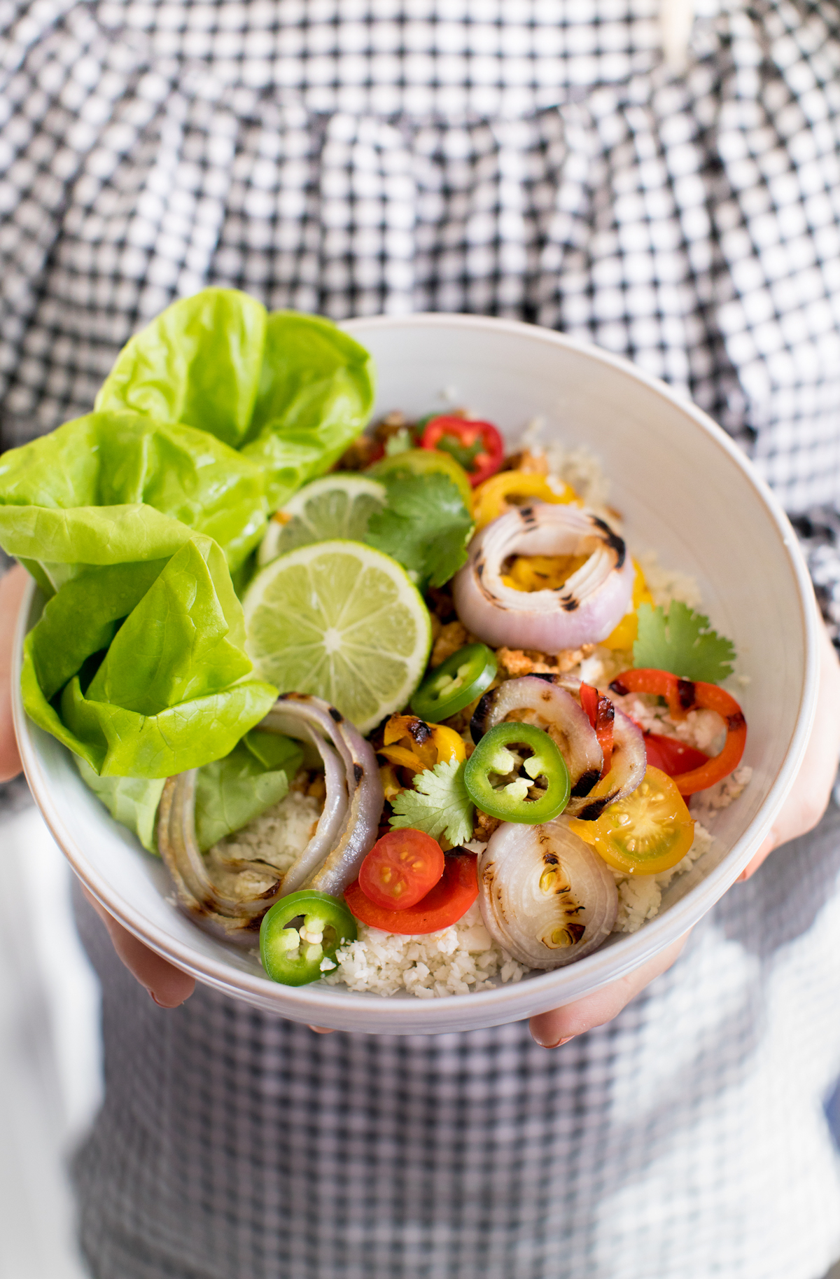 bowl with vegetables