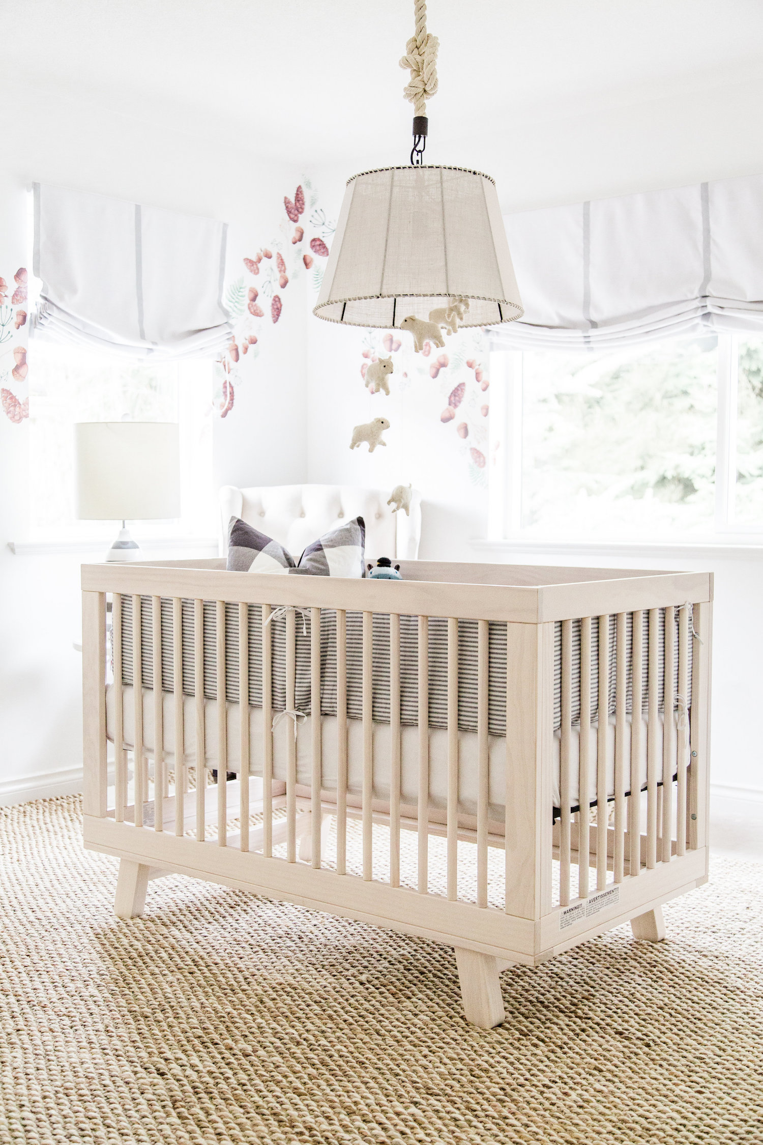 Baby Boy Neutral Nursery by Monika Hibbs