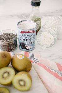Kiwi Chia seed pudding recipe