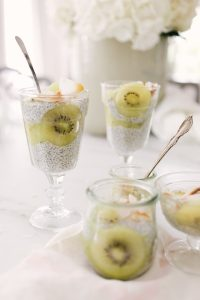 Kiwi Chia seed pudding recipe