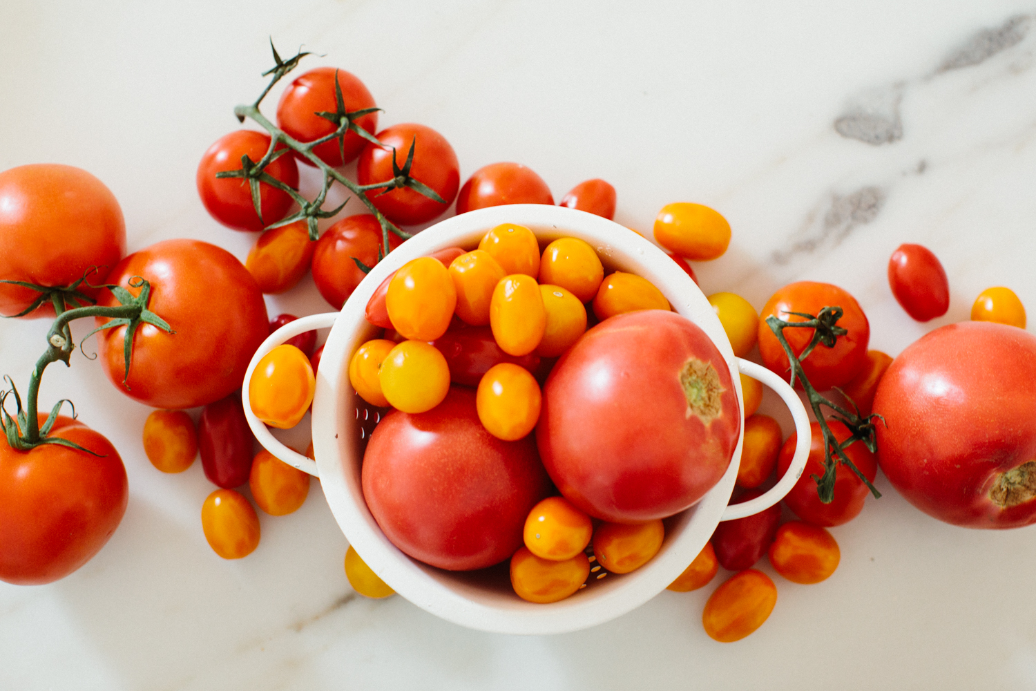 pile of tomatoes for tomato soup