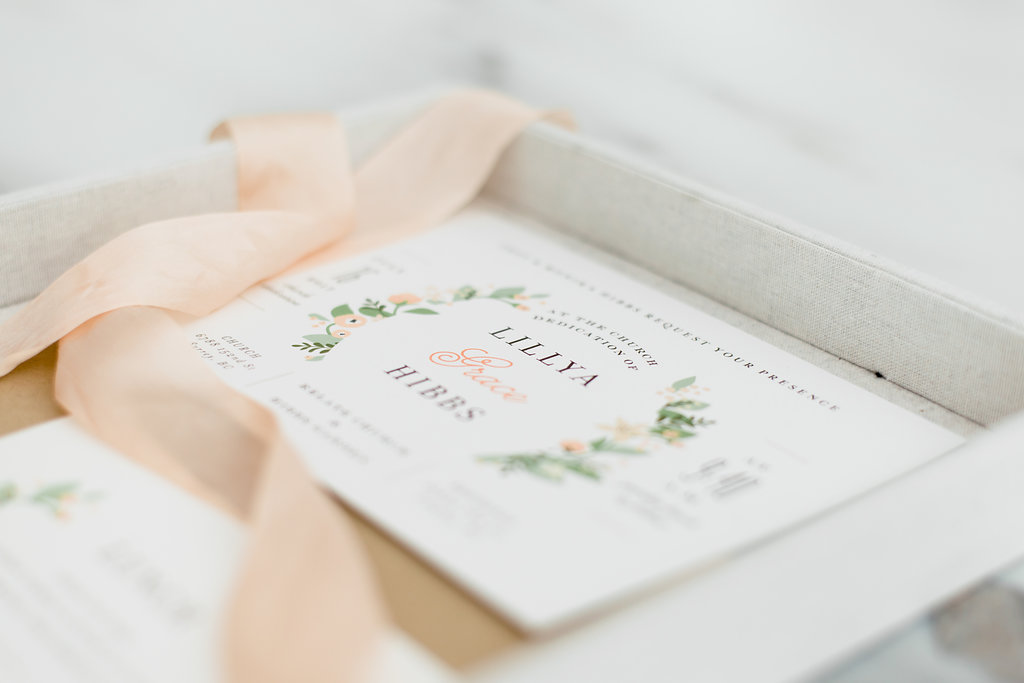 Invitations for garden party