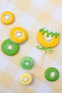 Kiwi Sugar Cookies