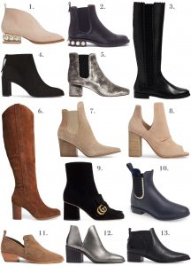 Selection Fall and winter boots
