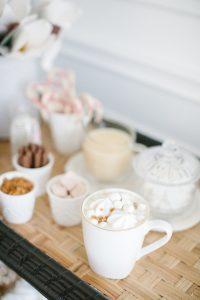 mug with coffee and whipped cream