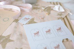 deer tags printable