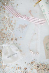 glitter, ribbon christmas tags