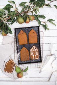 house gingerbread cookies