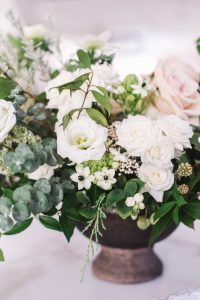 winter floral arrangement