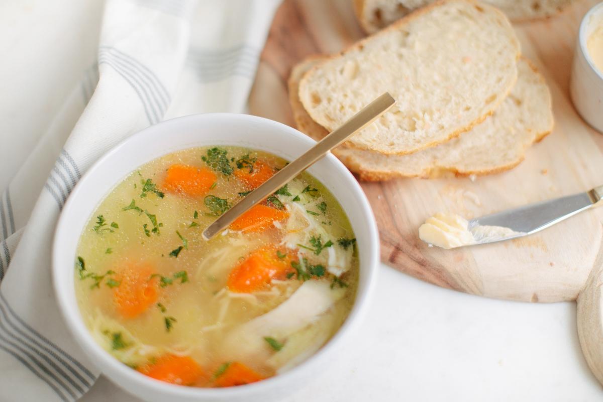 Rosól: Immune-Boosting Chicken Noodle Soup
