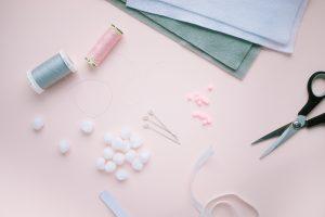 pretty sewing supplies