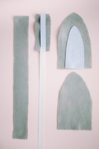 cut outs for felt bunny ears