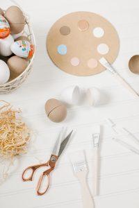 DIy paper easter eggs