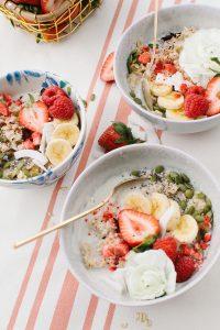 pretty oatmeal bowls