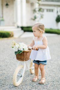 little girl hate bike and basket