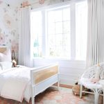 floral toddler girls bedroom