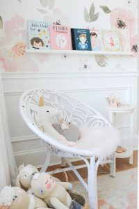 bright and airy ready nook little girls room